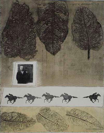 The Lost Jockey, fotopolymer av Christina Törnqvist