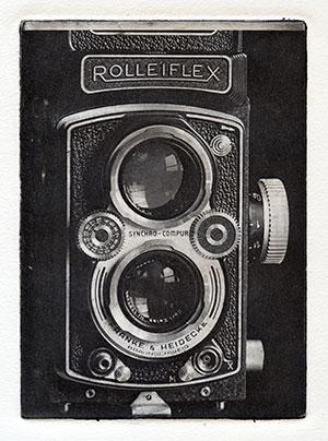 Rolleiflex fotopolymertryck