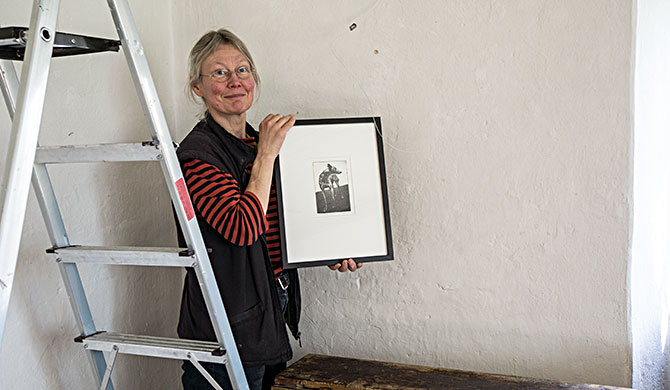 Fotopollymer utställning Binneberg Skövde